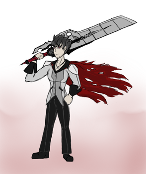 Bishie of the Month - Qrow Branwen by snowcloud8