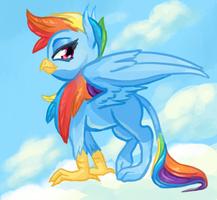 Griffon Dash by BellaCielo