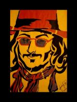 Coffee House - Johnny Depp by Nonsensicle