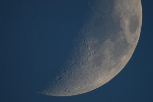 Moon in the day. - 09.05.2011 by KILLER289