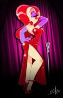 Jessica Rabbit FanArt by Oigresd
