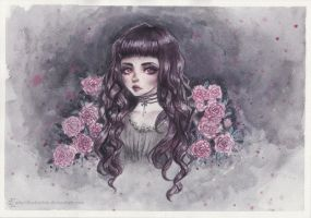 Vampire doll by ARiA-Illustration