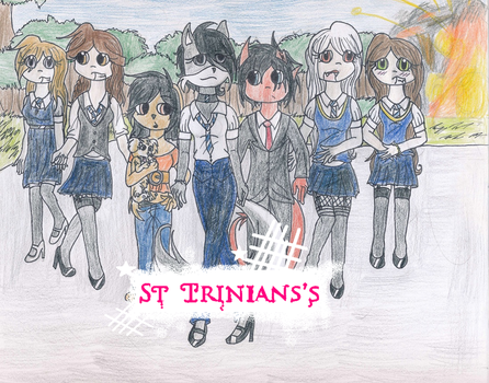 :Contest: Movie Poster St Trinian's by SugarBit