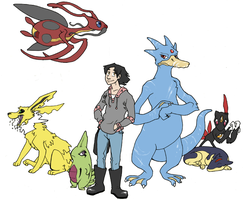 Pokemon CBC Line-Up by KelpGull