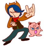 Dr. Manny's Database: Louis and Jigglypuff by DoctorManny
