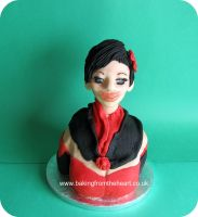 bust cake. by 0970jackie