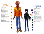 Cyan and NIM Reference Bios by KrazyPerson