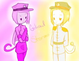 Goliad And Stormo by AskIce-Princess