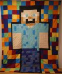 Colorful Steve by 8bitHealey