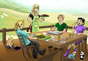 FMA: Traveller's stories by Sofie3387