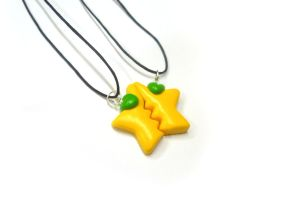 Paopu fruit necklace by TenereDelizie