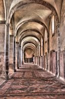 The abbey inside by UdoChristmann
