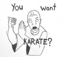 You Want Karate? by UndeadDeviation