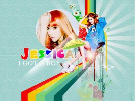 JESSICA-I GOT A BOY by jaz1185