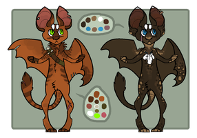 Custom Catterbats for AriMacc by RukaSwift