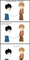 Death Note comic by loezzy