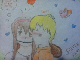 kenny and shelly by randomfangirl1
