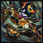 UF Abstract painting 13 by Wsandid