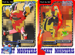Electivire and Magmortar Used Palette Swap by Axel-Comics