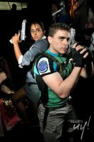 Chris BSAA Sheva Business by Chris--Redfield