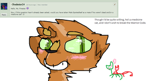 Question 33 - What if - by Ask-She-Firestar