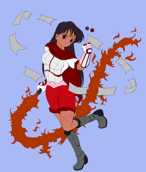 Sailor Mars - Preview by RBL-M1A2Tanker