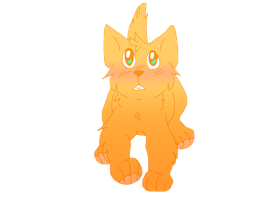 super anime firepaw by dog-san