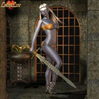 Miralith Drow by Latexluv