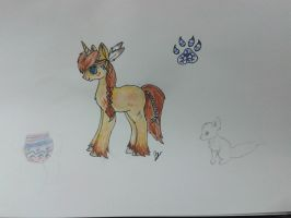 I:CE: pony design by livesfordrawings