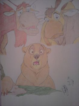 Brother Bear by TheWolfInMe