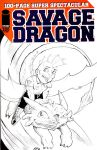 The Savage Dragon and Toothless by norrit07
