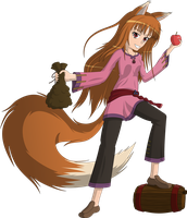 Horo The Wise Wolf by RatchetHuN