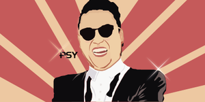 PSY Vector by Eliezerlopez