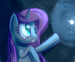 The Starlight in Her Eyes by DarkFlame75