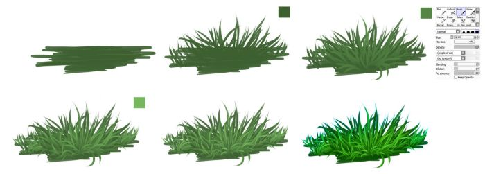 GRASS - easy  tutorial by ryky