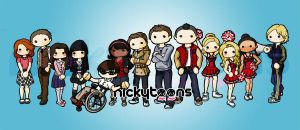 Glee Club by NickyToons