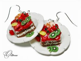 Fruit dessert 2 by OrionaJewelry