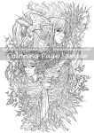 Art of Meadowhaven Coloring Page: Deep Wood by Saimain