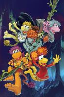 Fraggle Rock Issue 1 cover by lazesummerstone