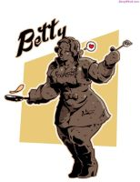 Betty The Golem by sidneymt