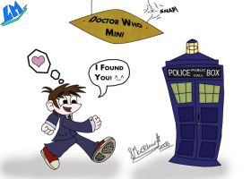 Doctor Who mini by marballz