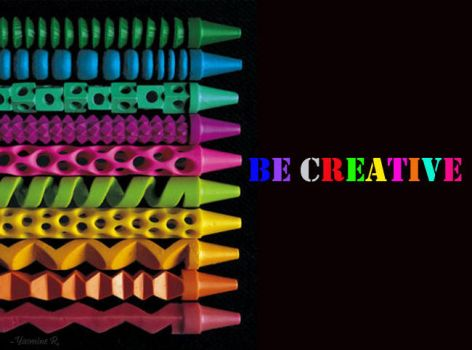 Be Creative by Scabaret-Sacrilegend