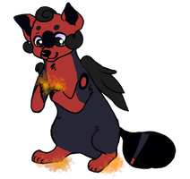 There's a Fire Staring in My Soul by fledglings