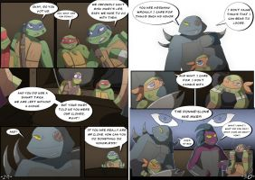 TMNT DR: Pages 29-30 by Samantai