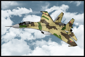 Beva's Squadron: Sergei Su-35S by TheAngryFishbed