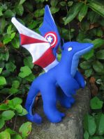 Captain America Dragon by Skylanth