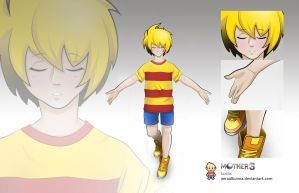 Mother 3: Lucas by AeraAlbunea