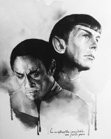 Star Trek - Vulcans by GrayscaleArt