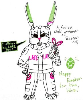 Happy Easter from The Hive by LUVKitty13