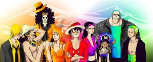 One Piece Fanart: Colours, 2Y by SarahSoak